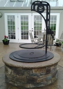Zentro fire pits in Pittsburgh