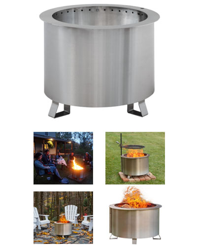 Breeo Double Falme Fire Pit in Pittsburgh