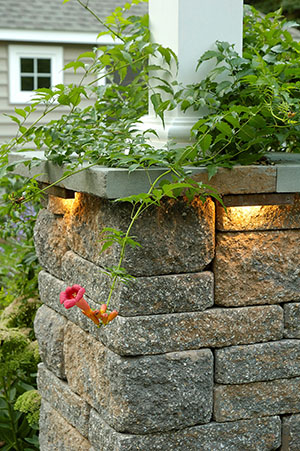 Outdoor Column Lighting in Pittsburgh