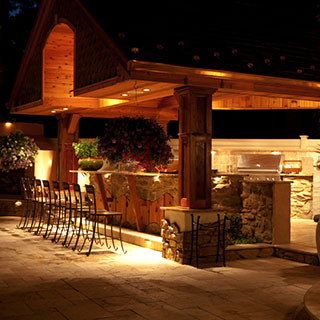Outdoor Column Lighting in Pittsburgh in Pittsburgh