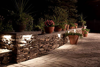 Outdoor Wall Illumination lighting in Pittsburgh