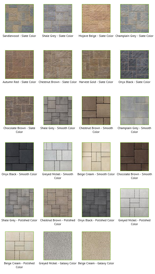 Slate Patio Slabs >> Techo-Bloc - BLU 60 mm Collection - Draguns Landscape Supply