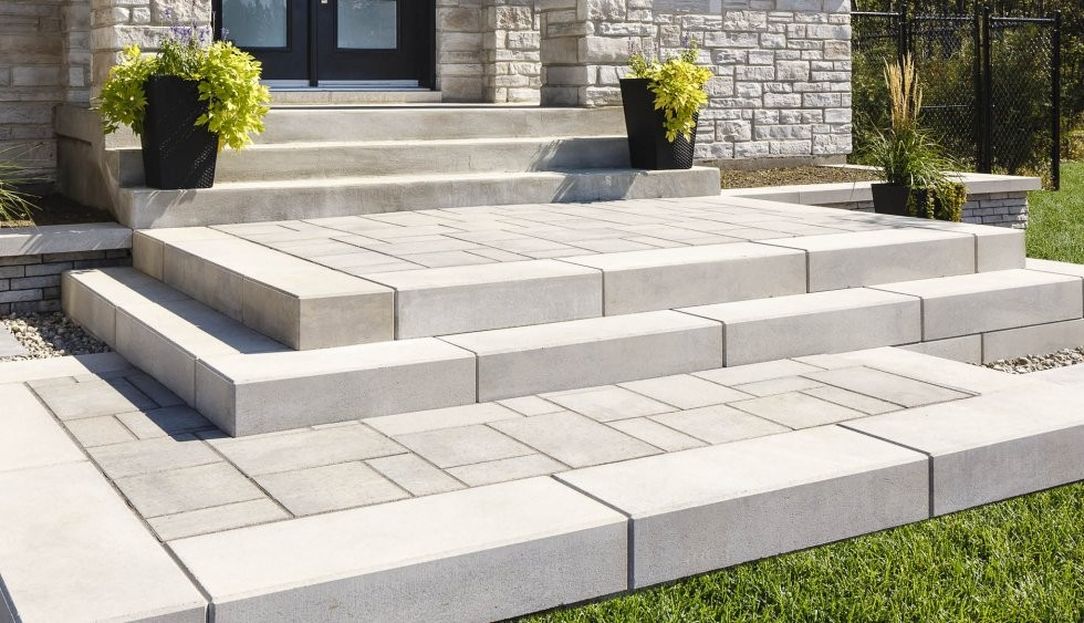 Techo Bloc Raffinato Step Draguns Landscape Supply